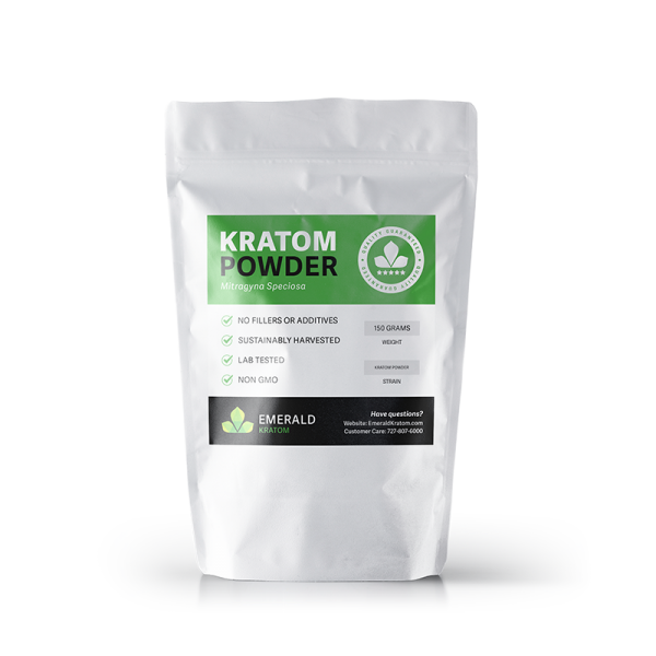 Emerald Kratom Powder 150 Gram Bag
