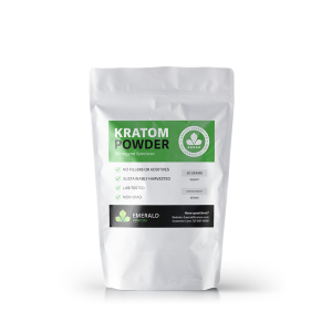 Emerald Kratom Powder 50 Gram Bag